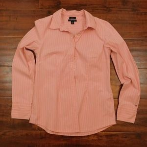 Womens Tommy Hilfiger Stretch Pink/White Medium